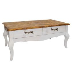 In Domo Furniture - Adele Vintage Coffee Table With Drawer