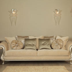 Tofias Furniture - Oscar Classic Three Sitted Sofa