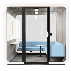 Accoustic Furniture 2q Lounge Front Misty Blue