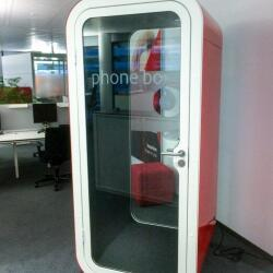 Accoustic Furniture Red Framery