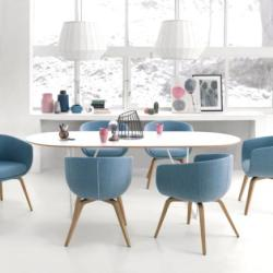 Office and Home Solutions - Profim Nu Dining Table With Chairs