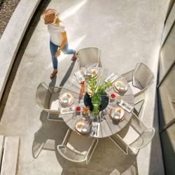 Outdoor Garden Furniture Ayanna Dining Aluminium Chair