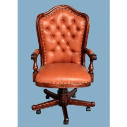 Aletraris Furniture - Colombus Classic Desk Armchair