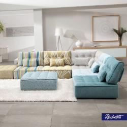 Andreotti Furniture - Colourful Sofa Living Room Furniture