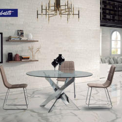Andreotti Furniture - Modern Glass Dinning Table