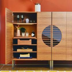 Takis Angelides - Porada Polifemo Modern Bar Cabinet