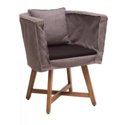 Metallofabrica Gray Arm Chair