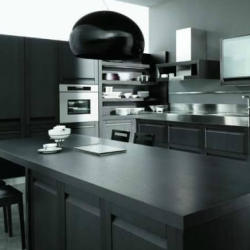 Estia Kitchen Contemporary Black Kitchen