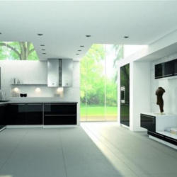 Prima Kitchens - Modern Kitchen Black And White