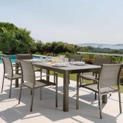 Marnico - Garden Dining Table Set