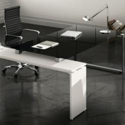 CMC Living - Black White Office Desk