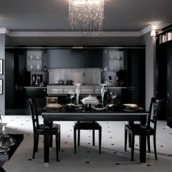 Salt and Pepper - Black Baccarat Kitchen