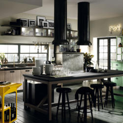 Salt and Pepper - Contemporary Diesel Social Kitchens