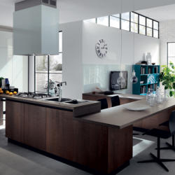 Salt and Pepper - Contemporary Libera Mente Kitchen