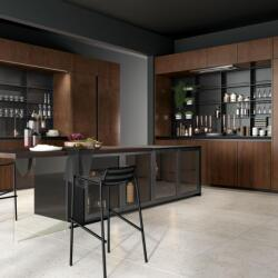 Argyrou Kitchens Design Collection Metal Effect