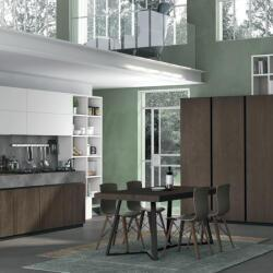 Argyrou Kitchens Design Collection Oak And Fenix Matt