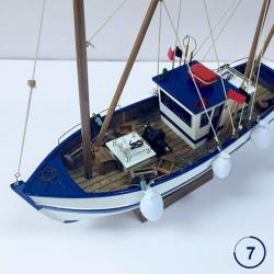 Thesis - Handmade Spanich Fishing Boat Decoration