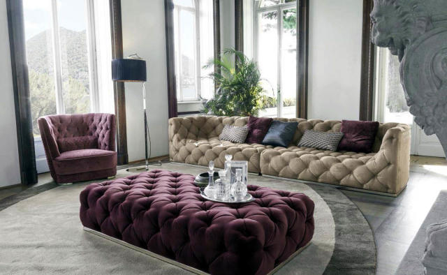 Elite Interiors   Contemporary Sofas