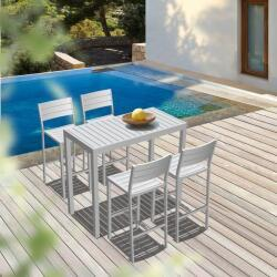 Seccom Furniture Cannes Bar Table Cannes Stools